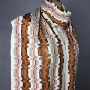 Missoni Long Wool Scarf  New NWT